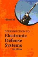 Introduction to Electronic Defense Systems PDF