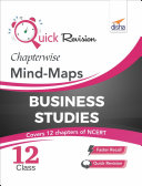 Quick Revision Chapterwise Mind-Maps class 12 business Studies