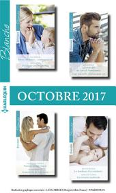 8 Romans Blanche No1334 à No1337 - Octobre 2017
