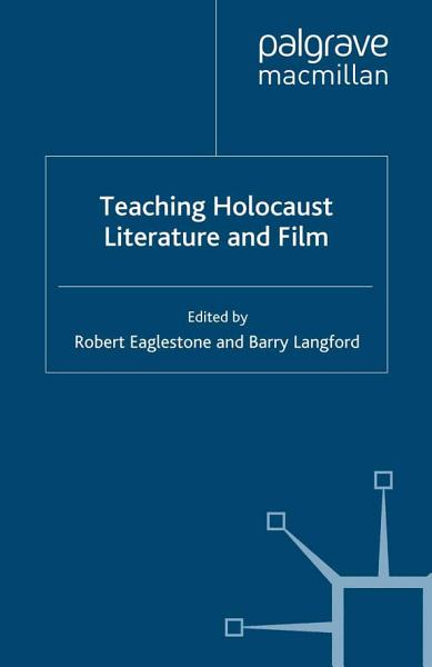 Download Teaching Holocaust Literature and Film Book