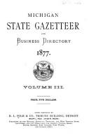 State Of Michigan Gazetteer Business Directory