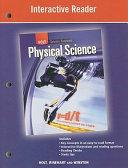 Science Spectrum  Physical Science  Grade 9 Interactive Reader  Alternate Version  PDF