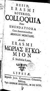 Colloquia /Erasmus Roterodamus, Desiderius