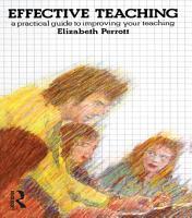 Effective Teaching PDF