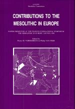 Contributions to the Mesolithic in Europe