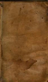 Horatii Tursellini... Epitomae historiarum libri X. Editio secunda... [Ep. ded Cardon et Cavellat Matio Vitellesco]