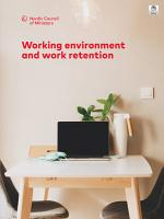 Working environment and work retention PDF