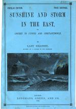 Sunshine and storm in the East; or, Cruises to Cyprus and Constantinople. Popular ed