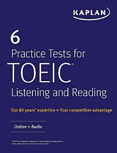 6 Practice Tests for TOEIC Listening and Reading PDF