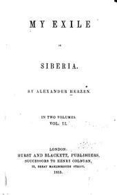 My Exile in Siberia: Volume 2