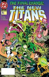 The New Titans (1984-) #115