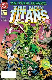 The New Titans (1984-) #115