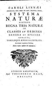 Systema naturae ...
