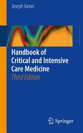 Handbook of Critical and Intensive Care Medicine: Edition 3