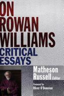 On Rowan Williams