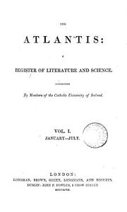 The Atlantis  a register of literature and science PDF