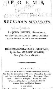 Poems, Chiefly on Religious Subjects ...