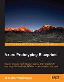 Axure Prototyping Blueprints