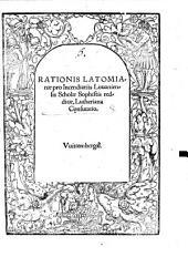 Rationis Latomianae pro Incendiariis Louaniensis Scholae Sophistis redditae, Lutheriana Confutatio