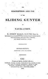 The description and use of the Sliding Gunter in Navigation