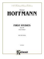 First Studies, Opus 86: For Viola