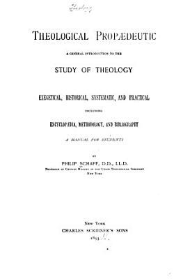 Theological Prop  deutic PDF