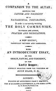 A companion to the altar PDF