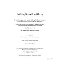 Building Better Rural Places Book PDF