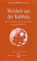 Weisheit aus der Kabbala PDF