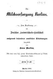 Die milchversorgung Berlins