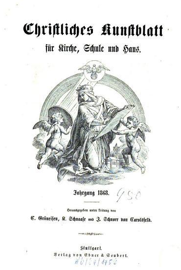 Christliches Kunstblatt f  r Kirche  Schule u  Haus PDF
