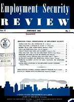 Employment Security Review PDF