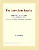 The Aeroplane Speaks (Illustrated Edition)