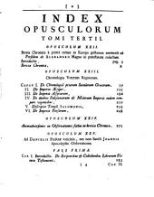 Isaaci Newtoni ... Opuscula mathematica, philosophica et philologica: Volume 1