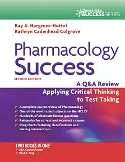 Pharmacology Success Book