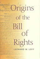 Origins of the Bill of Rights PDF