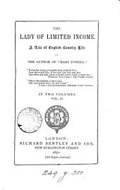 The lady of limited income, by the author of 'Mary Powell'.