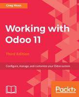 Working with Odoo 11 PDF