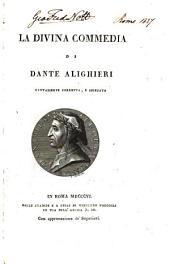 La divina commedia, nuovamente coretta e spiegata: Volume 2