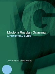 Modern Russian Grammar PDF