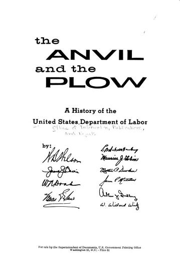 The Anvil and the Plow PDF