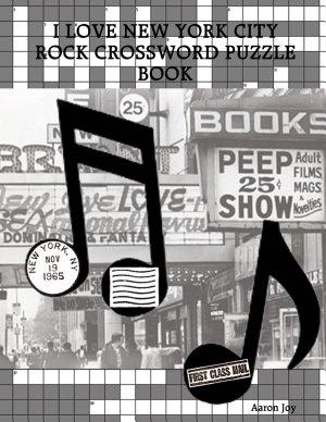 I LOVE NEW YORK CITY ROCK CROSSWORD PUZZLE BOOK