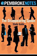 The Disappearing Spoon Study Guide PDF