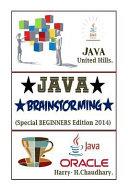 Java Brainstorming 2014 PDF