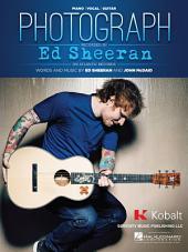 Photograph Sheet Music