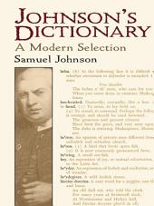 Johnson's Dictionary: A Modern Selection