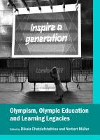 Olympism  Olympic Education and Learning Legacies PDF
