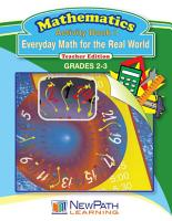 Everyday Math for the Real World Workbook Book 1 PDF