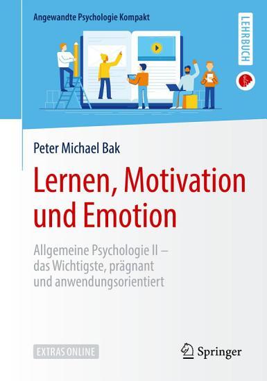 Lernen  Motivation und Emotion PDF