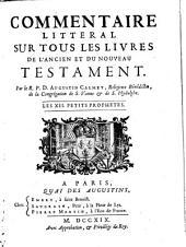 Commentaire littéral sur tous les livres de l'ancien et du nouveau testament: Les XII. petits prophetes (1719)
